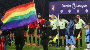 The Premier League shows support for Stonewall's rainbow laces campaign. But are they doing enough?